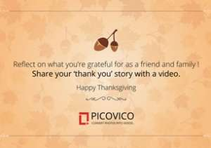 thanksgiving video maker