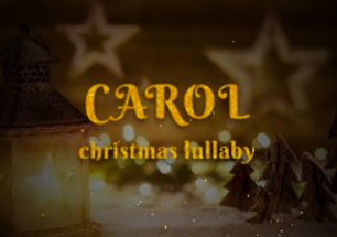 carol christmas video maker