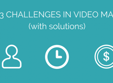 challenges in making video