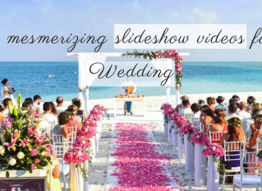 How to Make a Wedding Slideshow