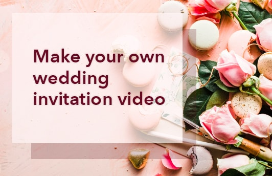 How to make your own wedding invitation video picovico birthday how to make your own wedding invitation video picovico birthday video maker blog stopboris Choice Image